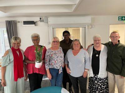 Churchfield Terrace residents social