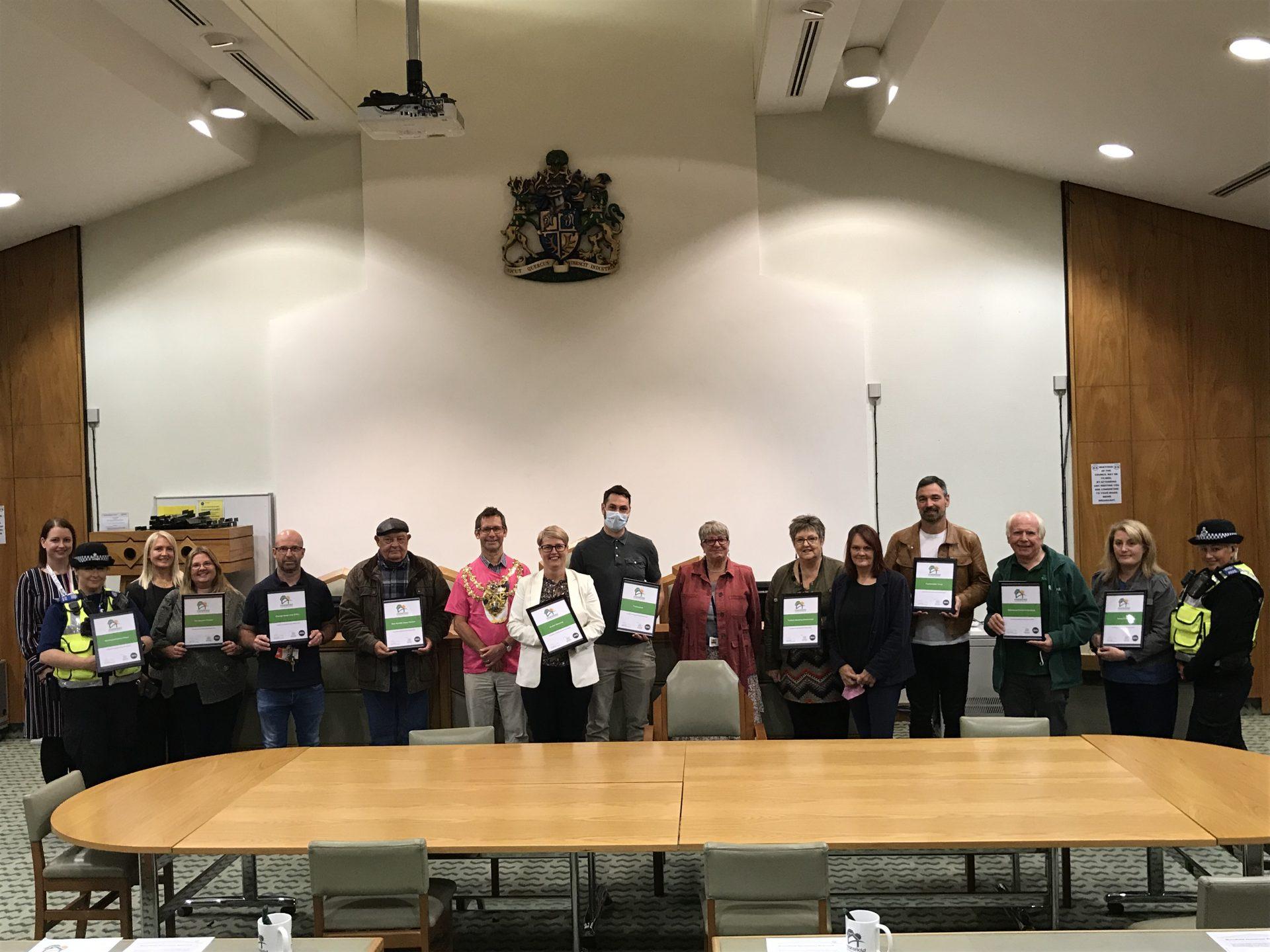 Mansfield Homeless Charter Launch September 2021